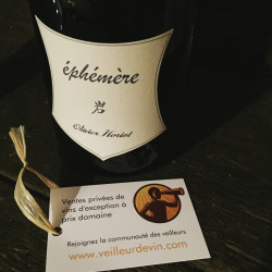 Champagne Cuvée éphémère 2015